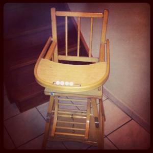 b b la chaise haute diy inside natachouette co. Black Bedroom Furniture Sets. Home Design Ideas