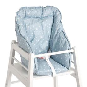 B b la chaise haute diy inside natachouette co - Coussin de chaise haute avec sangles ...