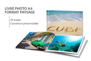 Livre photo A4 payasage
