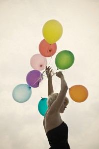 ballons couleurs