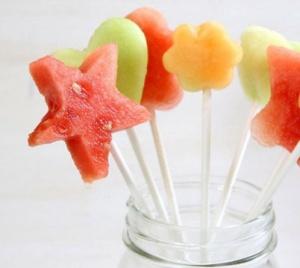 sucette fruits