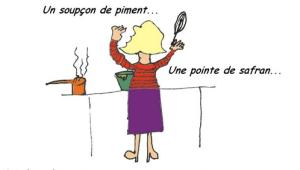 Cuisinière dessin