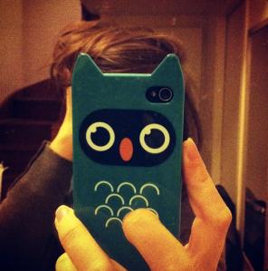 coque iphone hibou
